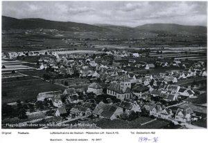 Luftbild Niederkirchen 1934