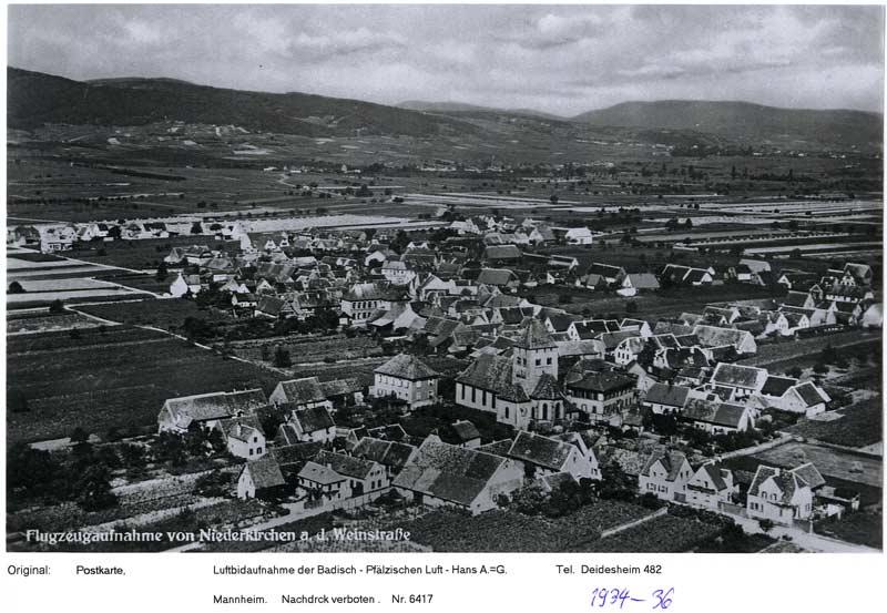 Luftaufnahme Niederkirchen